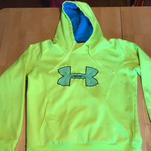 Under Armour cold gear hoodie Large